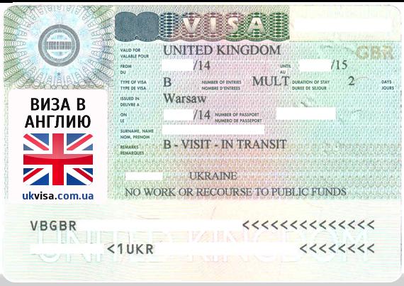 Виза для неграждан в лондон англию