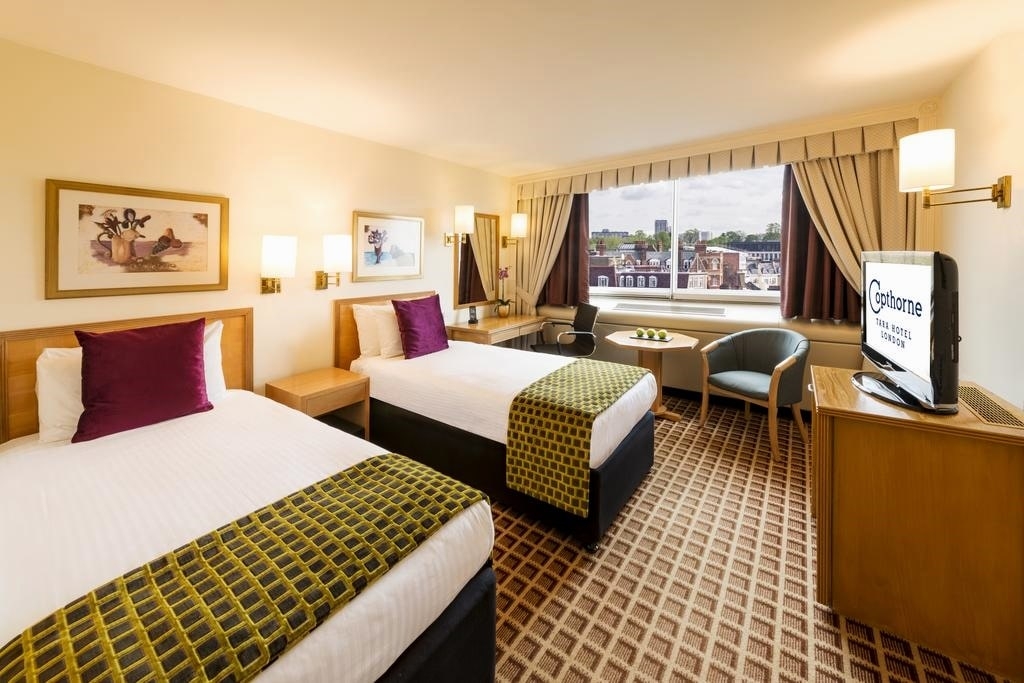 картинка Copthorne Tara Hotel London Kensington room