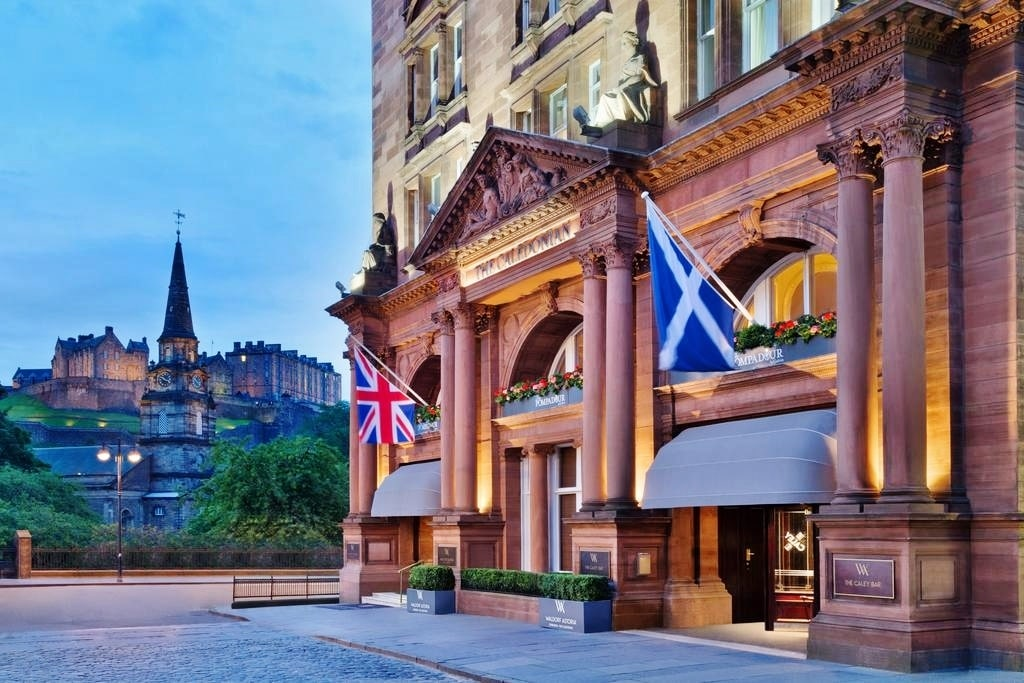 картинка Waldorf Astoria Edinburgh – The Caledonian 5*